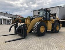 Caterpillar 980K with Forks
