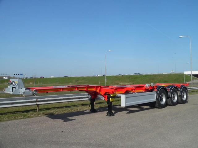 OZGUL G Tri/A Container Trailer 40ft