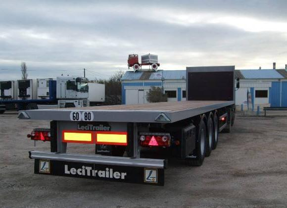 Lecitrailer NEUF : PLATEAU RANCHERS