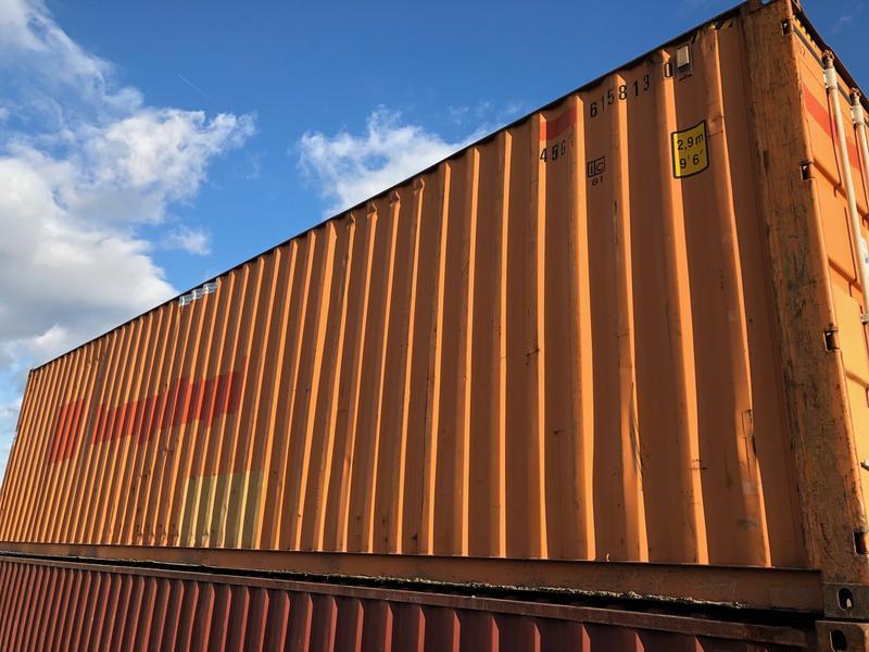 Gebrauchte 40 Fuß Seecontainer und Lagercontainer Seecontainer ...