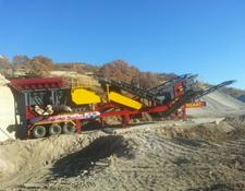 Fabo MCK-60 MOBILE CRUSHING PLANT