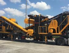 Fabo MTK-100 MOBILE CRUSHING PLANT
