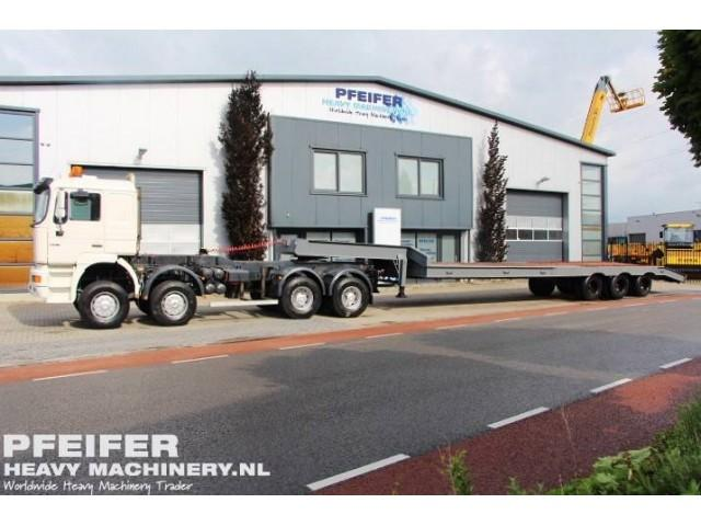 MAN 41.464 VFAK8X8 Price incl. Trailer