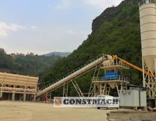Constmach 100 TON CAPACITY FIXED TYPE CONCRETE PLANT FOR SALE