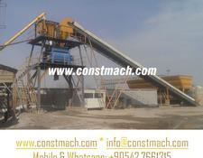 Constmach FIX TYPE CONCRETE PLANT 60 m3/h, YEARS WARRANTY