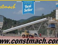 Constmach 120 m3/h CAPACITY STATIONARY TYPE CONCRETE PLANT, 2 YEARS WARRAN