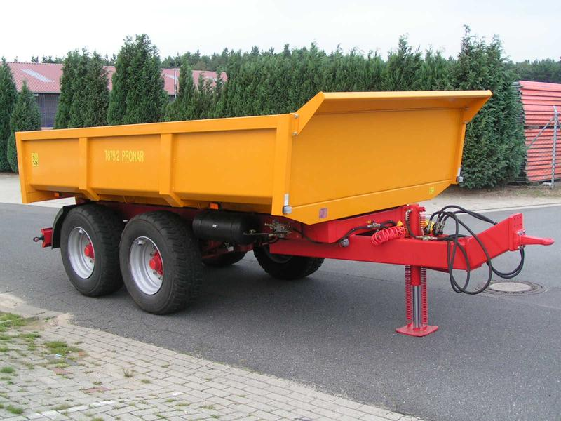 Pronar Kipper, Bau-Muldenkipper T 679/2, 16 to, NEU
