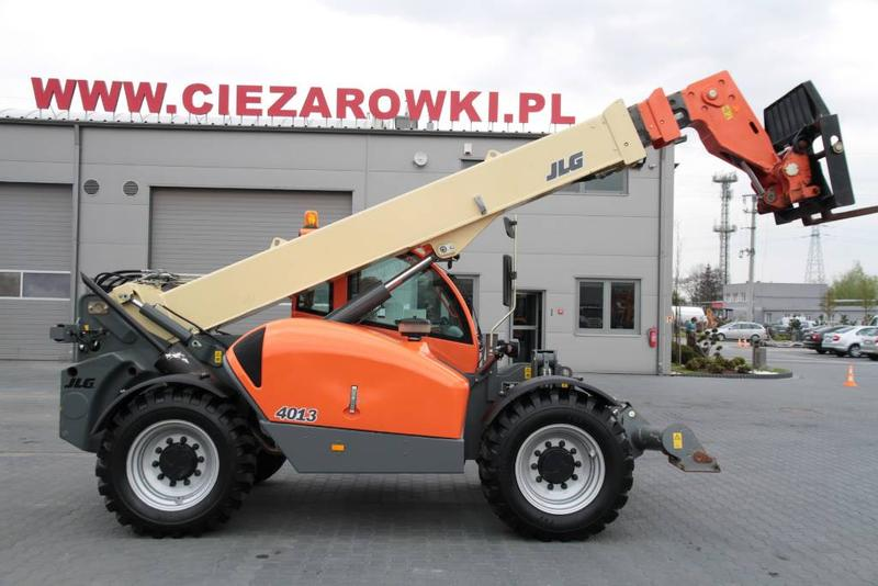JLG TELESCOPIC LOADER JLG 4013PS 13 meters 4x4x4