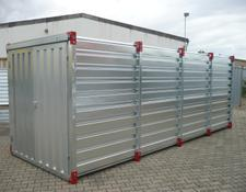 Iovino Materialcontainer 6x2 m  Werkzeug Container