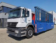 Mercedes-Benz Axor 1833 / Kran / Glastransport