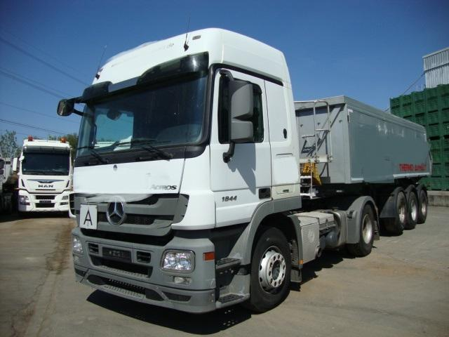 Mercedes-Benz Actros 1844 MP3 + Langendorf SKA 24/30 Thermokipper