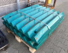 Metso-Minerals Schlagleisten blow bars for impact crushers spare parts