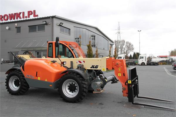 JLG TELESCOPIC LOADER 3513 PS 4x4x4