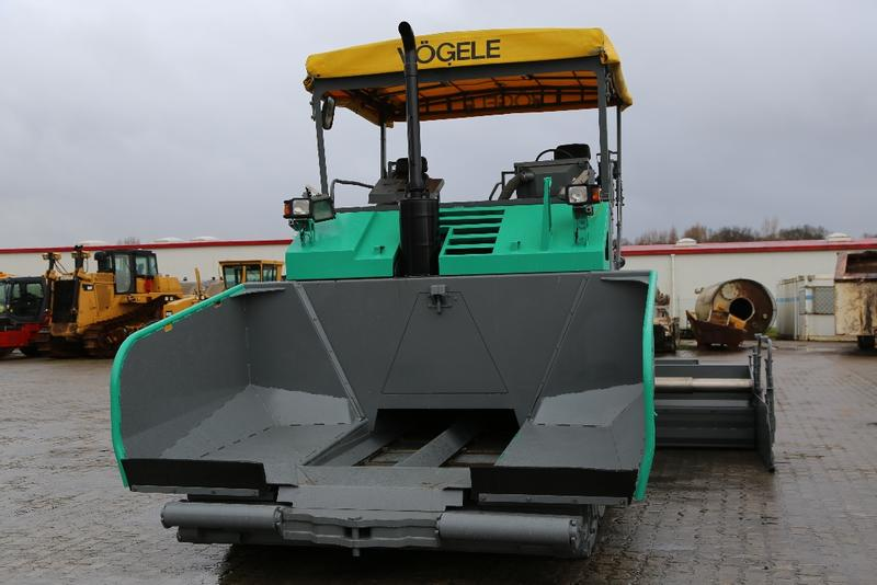 Vögele S 1803-1 with high compaction screed