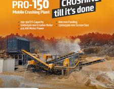 Fabo PRO-150 MOBILE CRUSHING & SCREENING PLANT | BEST QUALITY