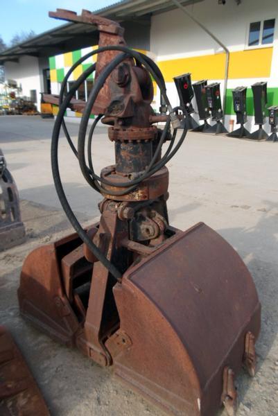 Berühmt Atlas GR-E32 2 Schalengreifer Bagger Baumaschinen Mobilbagger #GA_62