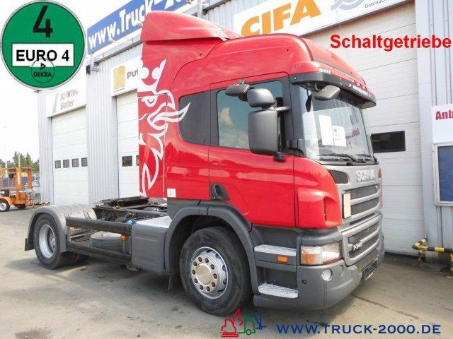 Scania P 340 Special tractor unit for car transporter