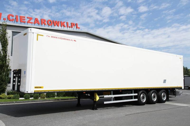 WIELTON SEMI TRAILER NS34 KOFFER CONTAINER 10 UNITS!