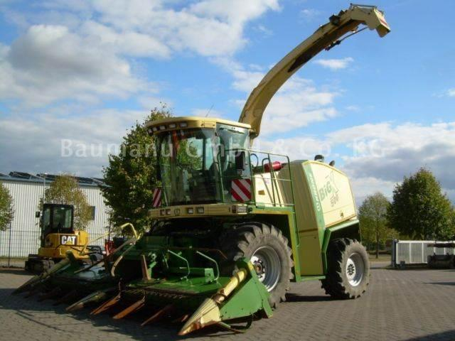 Krone Big X 500, BJ 05, 3100 BH, Maisgebiß, Pick Up,