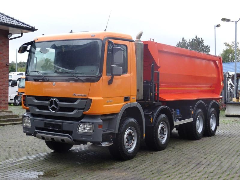 Mercedes-Benz 4141 8x4 MP3 / 20m³ / Klima / 4x vorhanden!