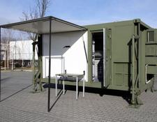 UNUSED Container house with Air filter / no-virus clear air