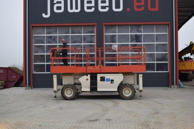 JLG 3394 RT Schere Scissor / 4x4 / 12 meter VIDEO