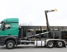 Mercedes-Benz AROCS 2543/ 6x2 / e6 / hook lift / new engine 1k km !