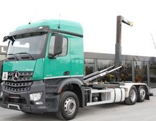 Mercedes-Benz new engine 1km mileage ! AROCS 2543 hooklift / e6 / 6x2/