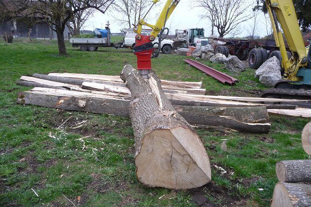 Etwas Neues genug Rock - Spalter/ Holzspalter/ Kegelspalter hydr. HSP2/9 - Bagger: 1 #PW_23