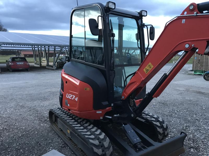 Kubota U 27-4 High Spec-