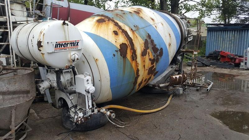 Mercedes-Benz INTERMIX 7m3 mixer body