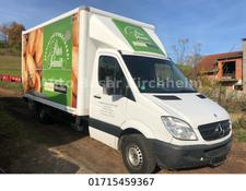 Mercedes-Benz sprinter 313 CDI Koffer, Ladebordwand