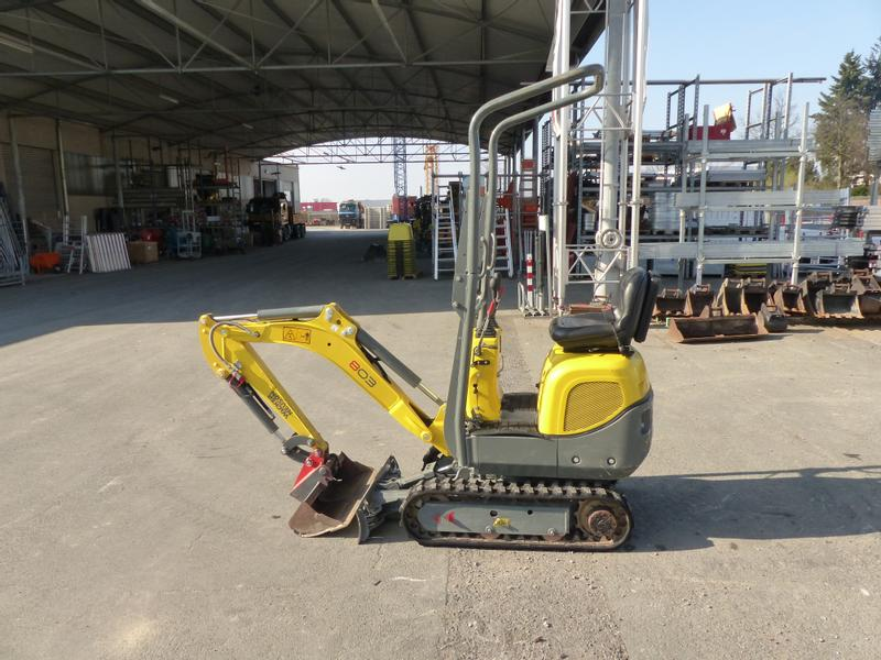 Wacker Neuson 803 Dual Power Edition A