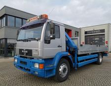 MAN L2000 / Meiller Kipper Kran / German