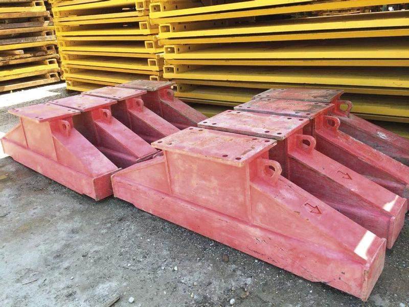 TWF Double slide rail shoring