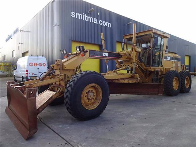 Caterpillar 12H W RIPPER AND FRONT BLADE