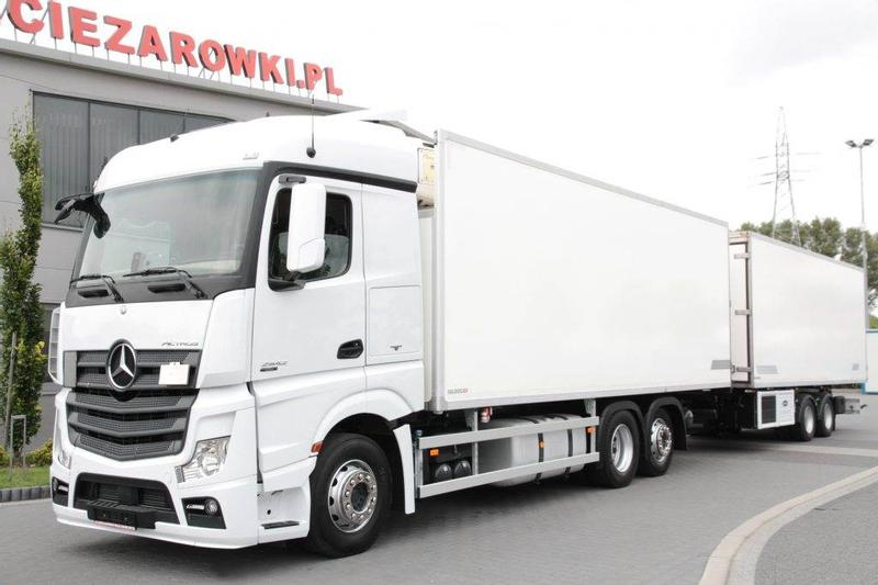 Mercedes-Benz SET 6x2 ACTROS 2542 L EURO 6 REFRIGERATOR CARRIER