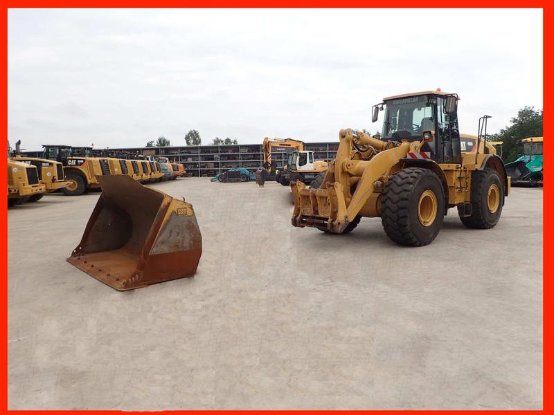 Caterpillar 966 H - QC+bucket